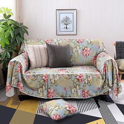 美式田园全盖沙发套沙发罩沙发巾 单独右贵妃170*260cm 兰朵拉