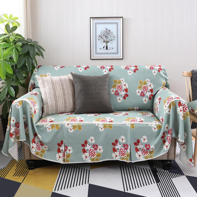 美式田园全盖沙发套沙发罩沙发巾 单独右贵妃170*260cm 万妮莎