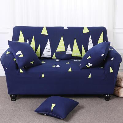【总】2019款 卡通沙发套美式全包万能沙发套沙发罩沙发巾沙发垫通用型 抱枕含芯【45*45】一只 森林之光