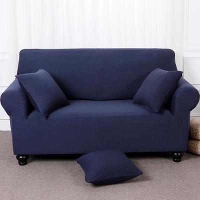 【总】2019款全包万能沙发套美式组合沙发罩沙发巾沙发垫通用型 抱枕含芯【45*45】一只 咖啡色