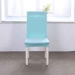 【总】2018纯色弹力连体椅套椅垫沙发套 天蓝