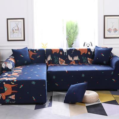 【总】2019款 卡通组合式沙发套美式全包万能沙发套沙发罩沙发巾沙发垫通用型 抱枕含芯【45*45】一只 挪威森林
