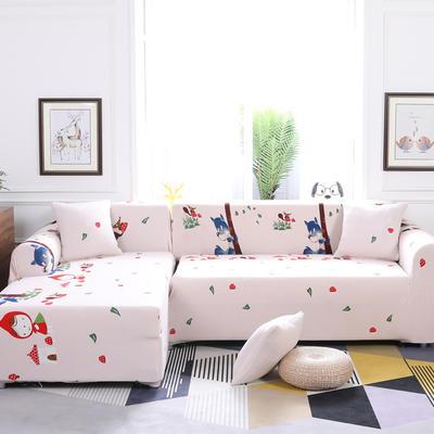 【总】2019款 卡通组合式沙发套美式全包万能沙发套沙发罩沙发巾沙发垫通用型 抱枕含芯【45*45】一只 美好假期