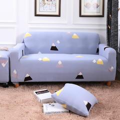 2018新款专版版权印花全包万能沙发套沙发罩 同色抱枕套45*45(1只) 岁月静好