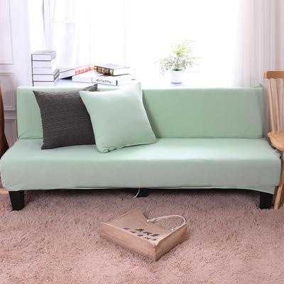 2019新款美人条沙发床套沙发套沙发罩沙发垫套 抱枕套 蟹壳青(美人条)