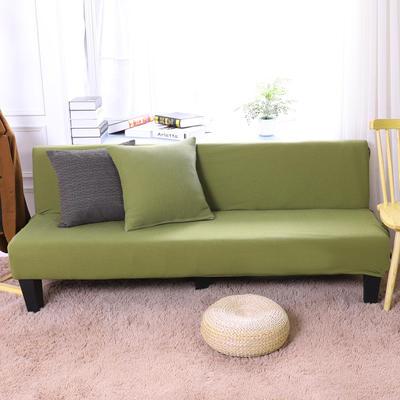 2019新款美人条沙发床套沙发套沙发罩沙发垫套 抱枕套 棕绿(美人条)