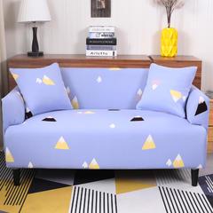 2018新款专版版权印花全包万能沙发套沙发罩 同色抱枕套【45*45一只】 岁月静好