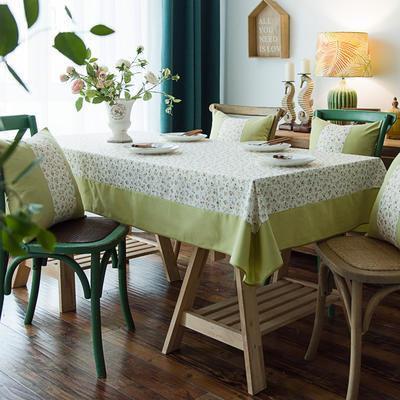 布兰鸟家纺2019新款—棉麻桌布台布餐桌布 90*90cm 西西里