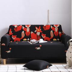 2019新款全包万能沙发套沙发罩沙发巾沙发垫沙发布 抱枕套【45*45一只】 卡通-黑夜精灵