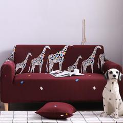 2019新款全包万能沙发套沙发罩沙发巾沙发垫沙发布 抱枕套【45*45一只】 卡通-三口之家