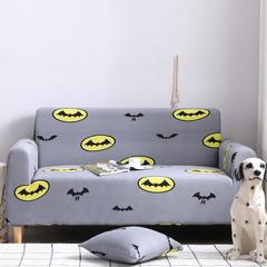 2019新款全包万能沙发套沙发罩沙发巾沙发垫沙发布 抱枕套【45*45一只】 印花-飞天蝙蝠