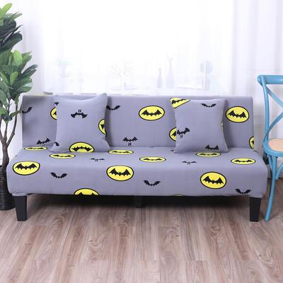 【总】2019款 专用沙发床套全包万能套风格2 抱枕含芯【45*45】一只 印花-飞天蝙蝠