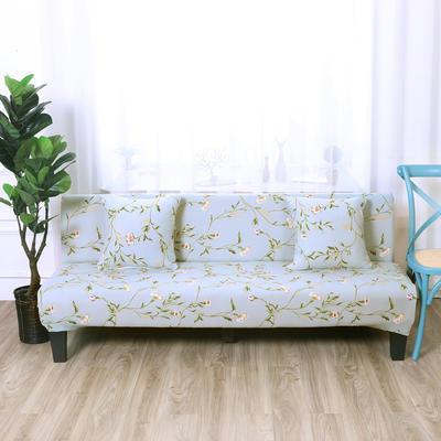 【总】2019款 专用沙发床套全包万能套风格2 抱枕含芯【45*45】一只 印花-花颜蜜语