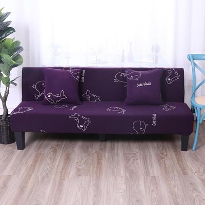 【总】2019款 专用沙发床套全包万能套风格2 抱枕含芯【45*45】一只 印花-深海蓝鲸灵