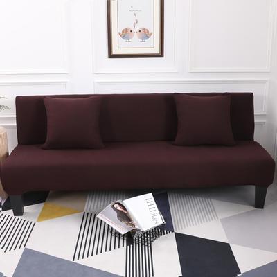 【总】2019款 专用沙发床套全包万能套风格2 抱枕含芯【45*45】一只 纯色-咖啡