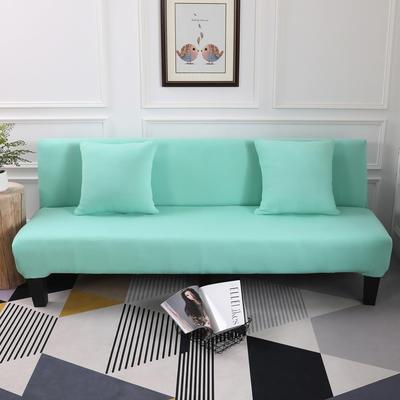 【总】2019款 专用沙发床套全包万能套风格2 抱枕含芯【45*45】一只 纯色-天空蓝