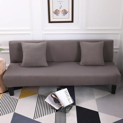 【总】2019款 专用沙发床套全包万能套风格2 抱枕含芯【45*45】一只 纯色-银灰