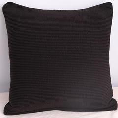 2019新款高端加厚美芙条抱枕套 50X50cm 美芙条-黑棕
