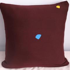 2019款简约现代沙发抱枕靠垫午休抱枕车上抱枕芯午睡办公室客厅卧室家用 抱枕套45x45cm 卡通-三口之家