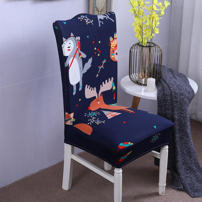 【总】2019弹力连体椅套椅垫椅子套沙发套 卡通-挪威森林