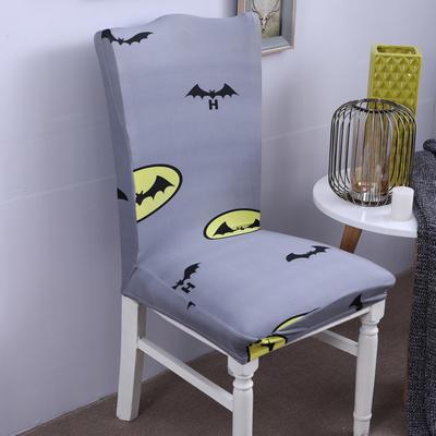 【总】2019弹力连体椅套椅垫椅子套沙发套 印花-飞天蝙蝠