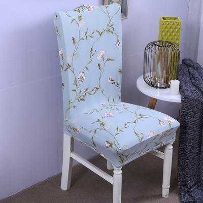 【总】2019弹力连体椅套椅垫椅子套沙发套 印花-花颜蜜语