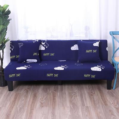 【总】2019款 专用沙发床套全包万能套风格2 抱枕含芯【45*45】一只 印花-如果云知道