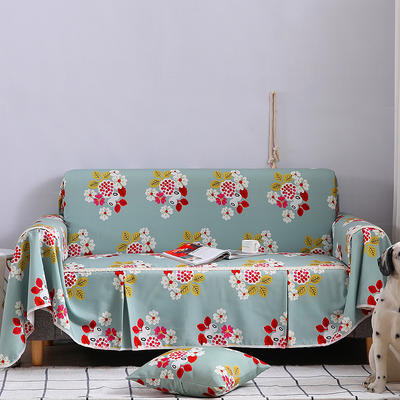 2019新款美式全盖沙发巾 桌布90*90cm/条 万妮莎