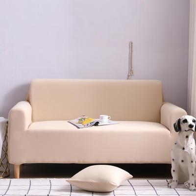 2019款外贸纯色沙发套全包套万能套罩沙发垫沙发巾沙发布 抱枕含芯【45*45一只】 小米黄