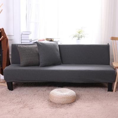 2019新款美人条沙发床套沙发套沙发罩沙发垫套 抱枕套 深灰(美人条)