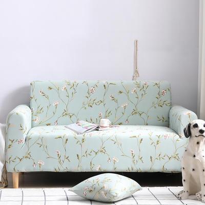 2019新款全包万能沙发套沙发罩沙发巾沙发垫沙发布 三人190-230cm 印花-花颜蜜语