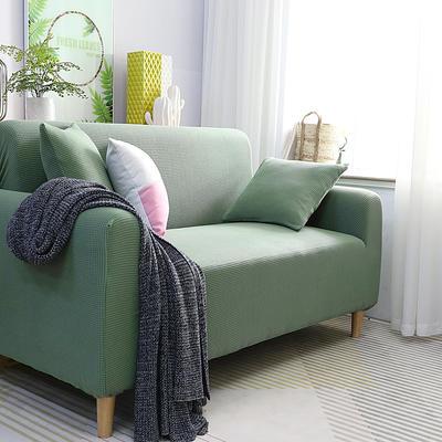 2019新款高端金粒绒品质沙发套全包万能套沙发垫沙发巾沙发罩沙发笠 抱枕套【50*50一只】 金粒绒-松柏绿