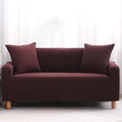 2019款印花沙发套全包套万能套罩沙发垫沙发巾沙发布【专版版权】 同色椅套 咖啡