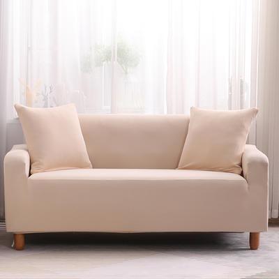 2019款印花沙发套全包套万能套罩沙发垫沙发巾沙发布【专版版权】 同色椅套 米黄