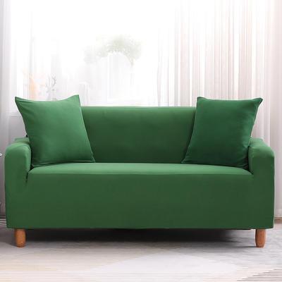 2019款印花沙发套全包套万能套罩沙发垫沙发巾沙发布【专版版权】 同色椅套 墨绿