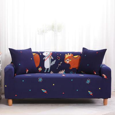 2019款印花沙发套全包套万能套罩沙发垫沙发巾沙发布【专版版权】 同色椅套 挪威森林
