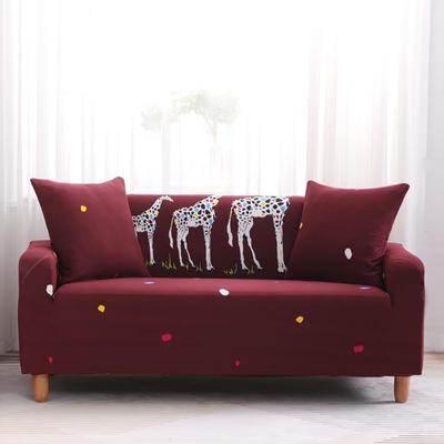 2019款印花沙发套全包套万能套罩沙发垫沙发巾沙发布【专版版权】 同色椅套 三口之家