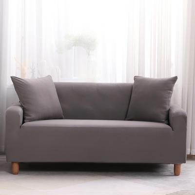 2019款印花沙发套全包套万能套罩沙发垫沙发巾沙发布【专版版权】 同色椅套 银灰