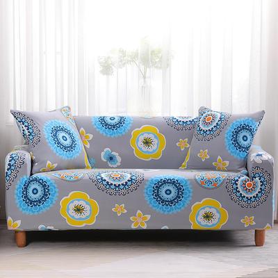 2019款印花沙发套全包套万能套罩沙发垫沙发巾沙发布【专版版权】 同色椅套 花花世界