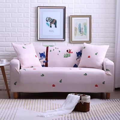 2018款—布兰鸟家纺万能全包沙发套沙发罩沙发垫沙发巾 同色抱枕【45*45一只】 美好假期