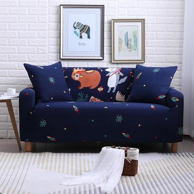 2018款—布兰鸟家纺万能全包沙发套沙发罩沙发垫沙发巾 同色抱枕【45*45一只】 挪威森林