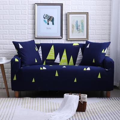 2018款—布兰鸟家纺万能全包沙发套沙发罩沙发垫沙发巾 同色抱枕【45*45一只】 森林之光