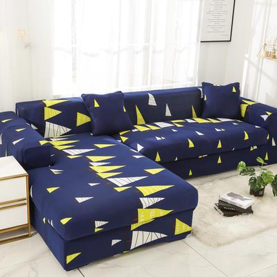 2019高端风格组合L型沙发套全包沙发套罩网红沙发套沙发垫套 同色抱枕【45*45一只】 卡通-森林之光