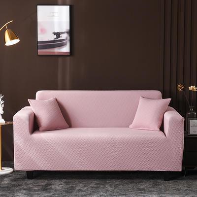 2020新款高端提花沙發套沙發墊沙發巾全包萬能套罩跨境電商專供 單人90-140cm 金提粉