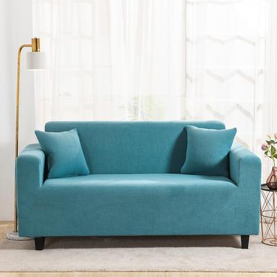 2020新款沙發套全包萬能沙發套罩沙發墊沙發巾玉米粒搖粒絨跨境專供 單人90-140 金粒絨-暗粉