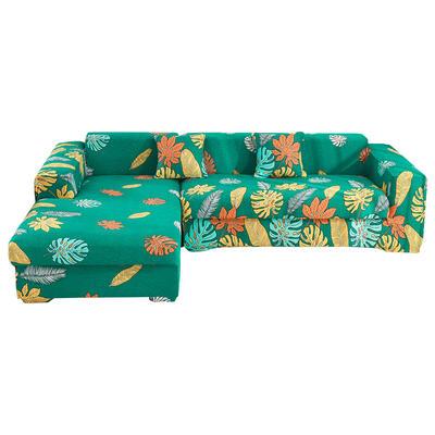 2020跨境外贸专供印花沙发套全包沙发套罩网红沙发套沙发垫套 单人90-140cm 繁花如梦
