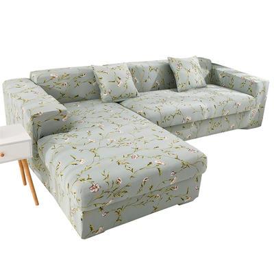 2020跨境外贸专供印花沙发套全包沙发套罩网红沙发套沙发垫套 单人90-140cm 花颜密语