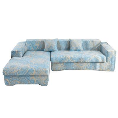2020跨境外贸专供印花沙发套全包沙发套罩网红沙发套沙发垫套 单人90-140cm 梦幻之城