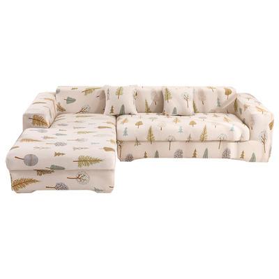 2020跨境外贸专供印花沙发套全包沙发套罩网红沙发套沙发垫套 单人90-140cm 木森林