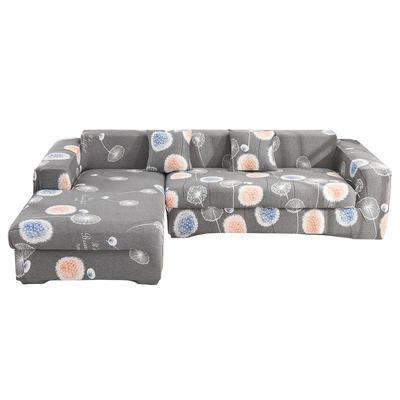 2020跨境外贸专供印花沙发套全包沙发套罩网红沙发套沙发垫套 单人90-140cm 天天向上